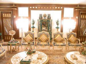 豪華な一室